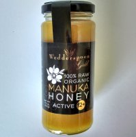 Wedderspoon Gold KFactor 12 Raw Manuka Honey, 11.5 oz (325g)