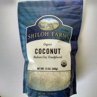Shiloh Farms Organic Coconut, Medium Cut, Unsulphured, 12 oz.