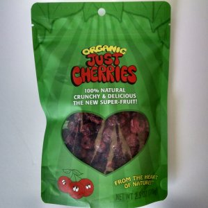 Just Cherries, Organic, Freeze-Dried, 2.5 oz.