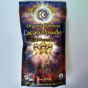 Earth Circle Organics Organic Balinese Cacao Powder, 16 oz.