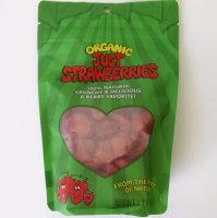 Just Strawberries, Organic, Freeze-Dried, 1.2 oz.