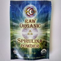 Earth Circle Organics Raw & Organic Spirulina Powder, 4 oz.