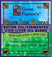 Blue Ice Royal Blend Capsules, 750 mg, 120 Count