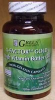 X-Factor Gold High Vitamin Butter Oil, 120 Capsules