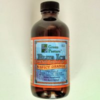 Blue Ice Fermented Skate Liver Oil, Spicy Orange - 8 oz. (237 ml)